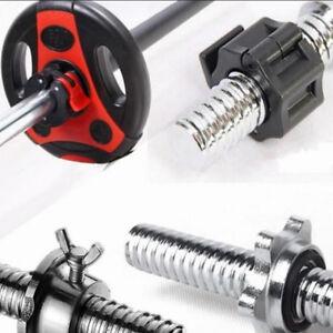 Weight-Lifting-Bar-Collars-Home-Gym-Standard-25mm-Barbell-Lock-Clamp-Collar-SU