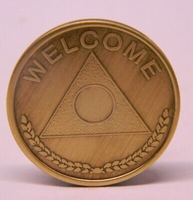 MEDALLION OVEREATERS ANONYMOUS 30 DAY ANNIVERSARY COIN