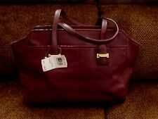 b86d8c32e2 item 6 NWT COACH F25205 Taylor Burgundy Leather Alexis Carryall Handbag   428. -NWT COACH F25205 Taylor Burgundy Leather Alexis Carryall Handbag   428.