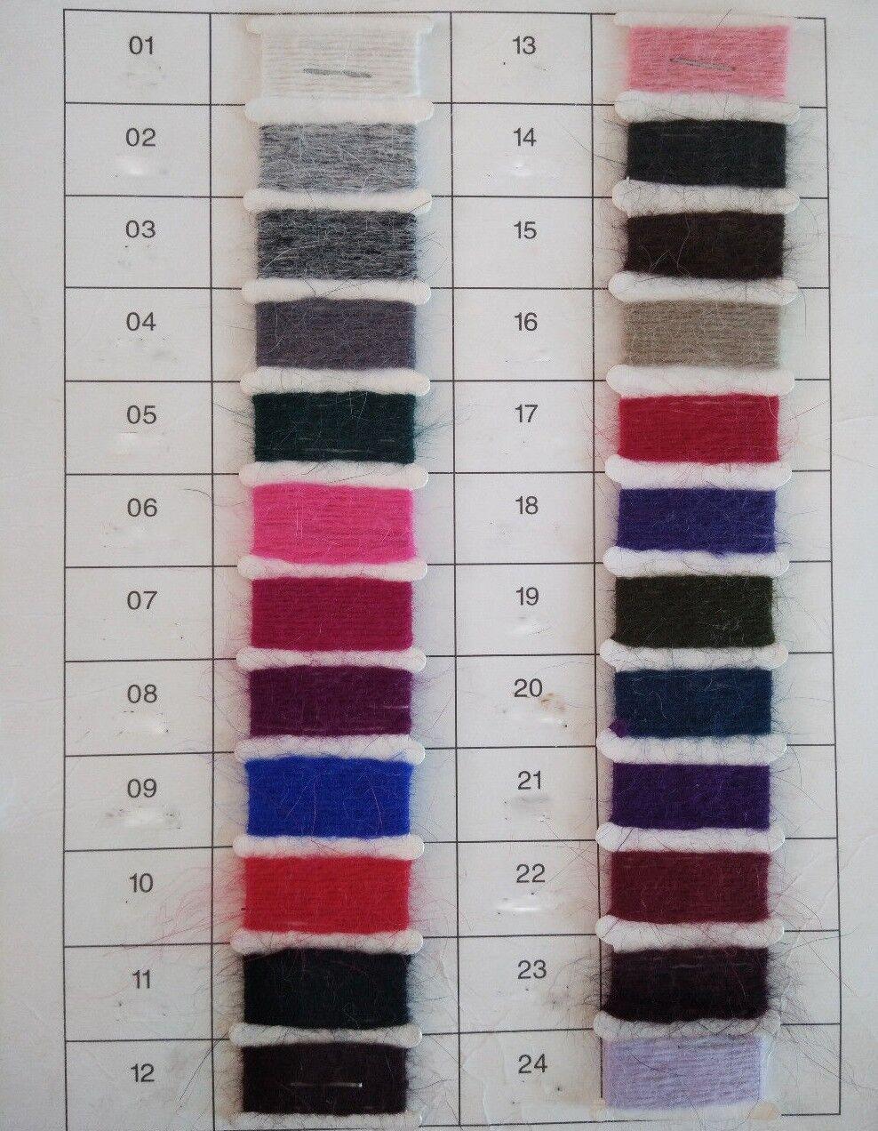 rosa 100% ANGORA LANA DOLCEVITA DOLCEVITA DOLCEVITA wool jumper sweater Mink Cashmere f3cf09