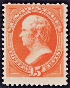 US-189-UNUSED-RG-NH-15c-DANIEL-WEBSTER-BEAUTY-SOFT-POROUS-PAPER-OF-1879