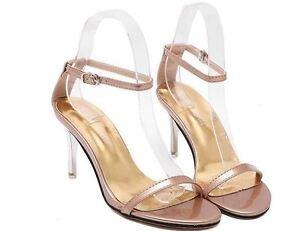 Sandali Stiletto 5 Cm Tacco Oro Plateau Eleganti 8 Comodi 8542 Donna rwq1Ur