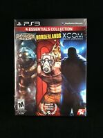 2k Essentials Collection Bioshock / Borderlands / Xcom Bundle (playstation 3)