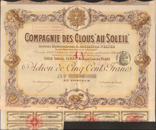 """DECO =/> Compagnie des /""""CLOUS AU SOLEIL/"""" G"""
