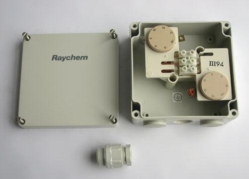 Raychem HTS D Differenz Thermostat für Dachrinnen Heizung -15°C...+15°C