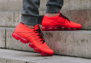 6c7e710f43c45 Nike Air Vapormax Flyknit Clot 10.5 AA2241-006 Black Crimson Red Box ...