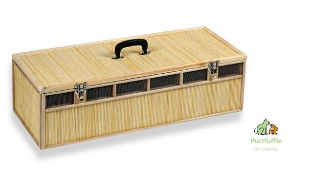 PIGEON   POULTRY   GAME BAMBOO REED CARRIER BASKET   BOX -  CHOICE OF 2 SIZES