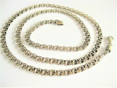 Adaptable Collier Argent 925,60,5 Cm Jewelry & Watches Fine Jewelry
