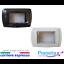 Placche-IP55-autoportante-3-Moduli-esterno-impermeabile-compatibile-living-inter miniatuur 1