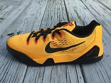Nike Kobe IX 9 Bruce Lee GS Shoes University Gold SZ 6Y Womens 7.5 (653593-700)