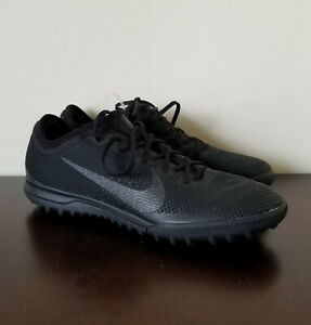 86f0200a719 Nike Mercurial Vapor XII 12 Pro TF Soccer Turf Shoes Black AH7388 ...