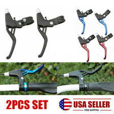 BMX Road Mountain Bike Bicycle Cycle Handle Hand Brake Levers 2-finger DH P1W/_sg