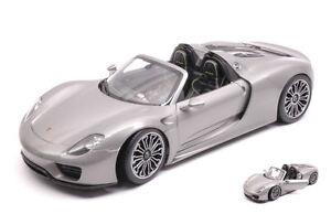 Porsche-918-Spyder-Silver-1-18-Model-18051CS-WELLY