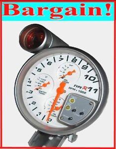 5 INCH RPM TACHOMETER REV GAUGE for MITSUBISHI LANCER EVOLUTION EVO 6 7 8 9 10 X