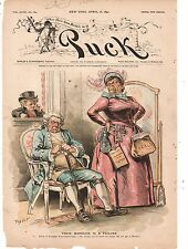 1890 Puck - New York needs to get rid of Tammany to ever be happy