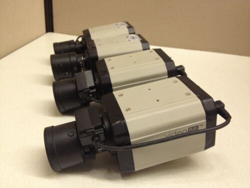 3-8mm Auto-Iris Lens AIB-2130 LOT of 4 GVI Video Plus 540TVL Color CCTV Camera