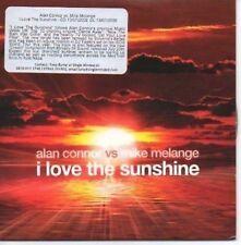 (AF966) Alan Connor vs Mike Melange, I Love The - DJ CD