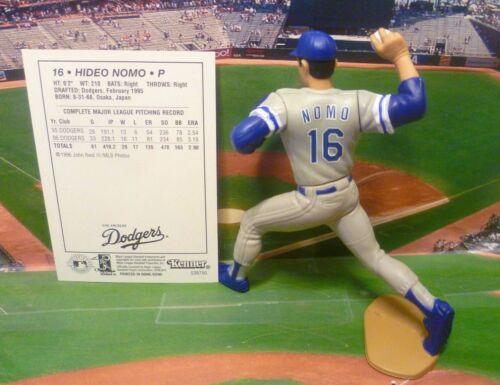 "1997  HIDEO NOMO Starting Lineup /""CD/"" Loose Figure /& Card LOS ANGELES DODGERS"