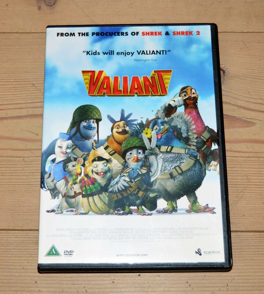 Blandet børn og ungdom , DVD, tegnefilm