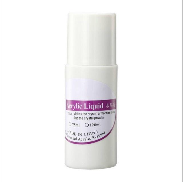 New 75ML Professional Nail Art System Acrylic Powder Liquid for False Tips LJ