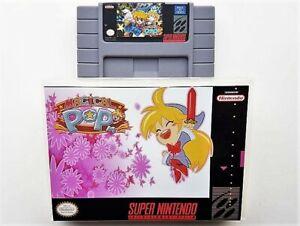 Magical-Pop-039-N-Game-Case-Super-Nintendo-SNES-English-Platformer-US-Seller