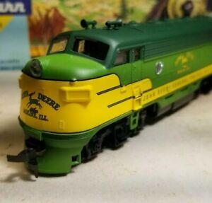 Athearn-John-Deere-F7-A-rtr-series-locomotive-train-engine-HO-powered-nos