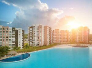 Departamento en Venta en Dream Lagoons Cancún, Polígono Sur, 3 recámaras.