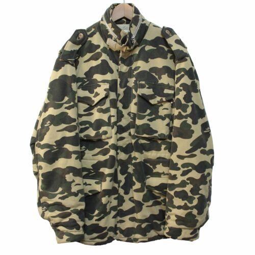 BAPE   OG 1st Camo M-65 Jacket (Yellow)   L bathin