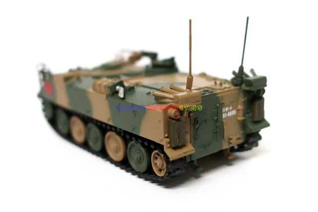 New 1//72 Diecast Tank Japanese Type 73 Armored Tank Modern Japan Military Model