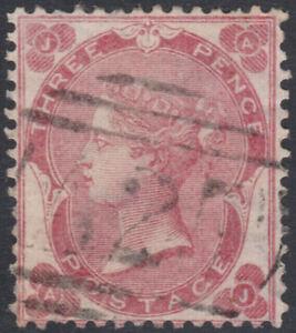 1862-SG76-Z41-3d-BRIGHT-CARMINE-ROSE-MALTA-A25-FINE-VERY-FINE-USED-AJ