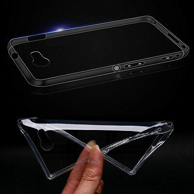 Crystal Clear Soft TPU Cover Case For Sony Xperia M2 Aqua D2403 D2406 Nice