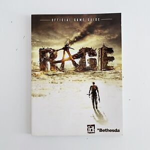 Rage Official Game Guide Book Paperback Strategy Bethesda 2011