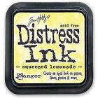 Tim Holtz Ranger Distress Ink Pad Squeezed Lemonade Water Based Dye Tim34940