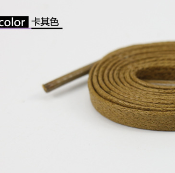 Multi Color Cotton Waxed Round Cords Strings Dress Shoe Laces 75//85//90cm /_W K7T