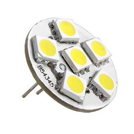 6 SMD LED Lamp G4 12V DC Spot Light Bulb Warm White A5W3