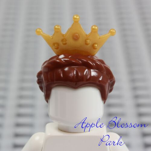LEGO Bau- & Konstruktionsspielzeug Baukästen & Konstruktion Neu Lego Weiblich Prinzessin Braun Queen Haar Schloss Mädchen Zopf W/Gold