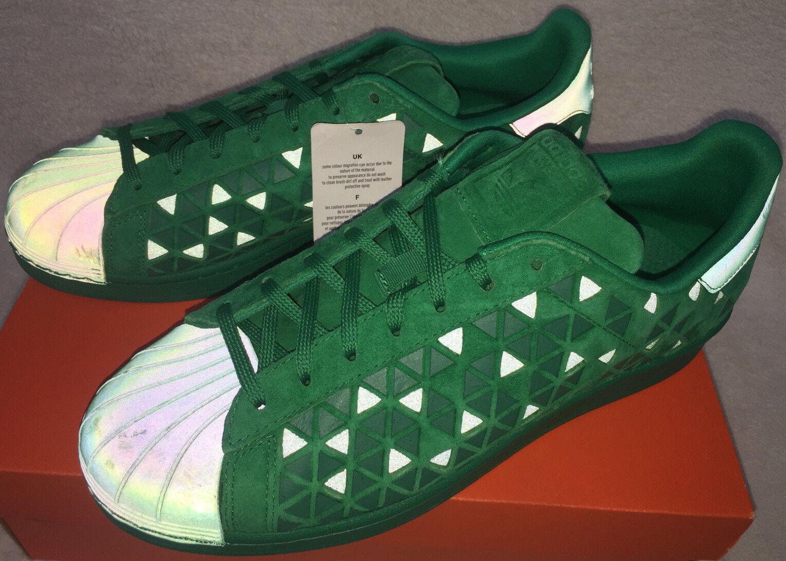 Adidas Reflectante Superstar Xeno AQ8180 Verde Reflectante Adidas casuales Zapatos De Baloncesto Para Hombres 13 cc30e1