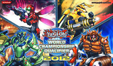 Yugioh Inzektor 2012 WCQ World Championship Qualifier Playmat / Play Mat