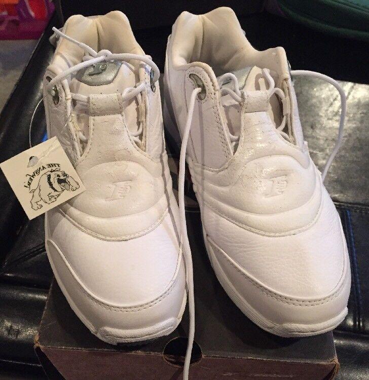 Vtg Junior Reebok Allen Iverson DMX I3 White mid-top basketball shoes size 4