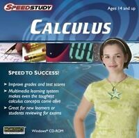 Speedstudy Calculus Derivatives Integrals Differentials Polynomials Prep