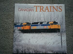 Canadian Trains 2013 CALENDAR to use again in 2030 hobby reference photos