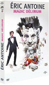 Eric-Antoine-Magic-Delirium-DVD-NEUF