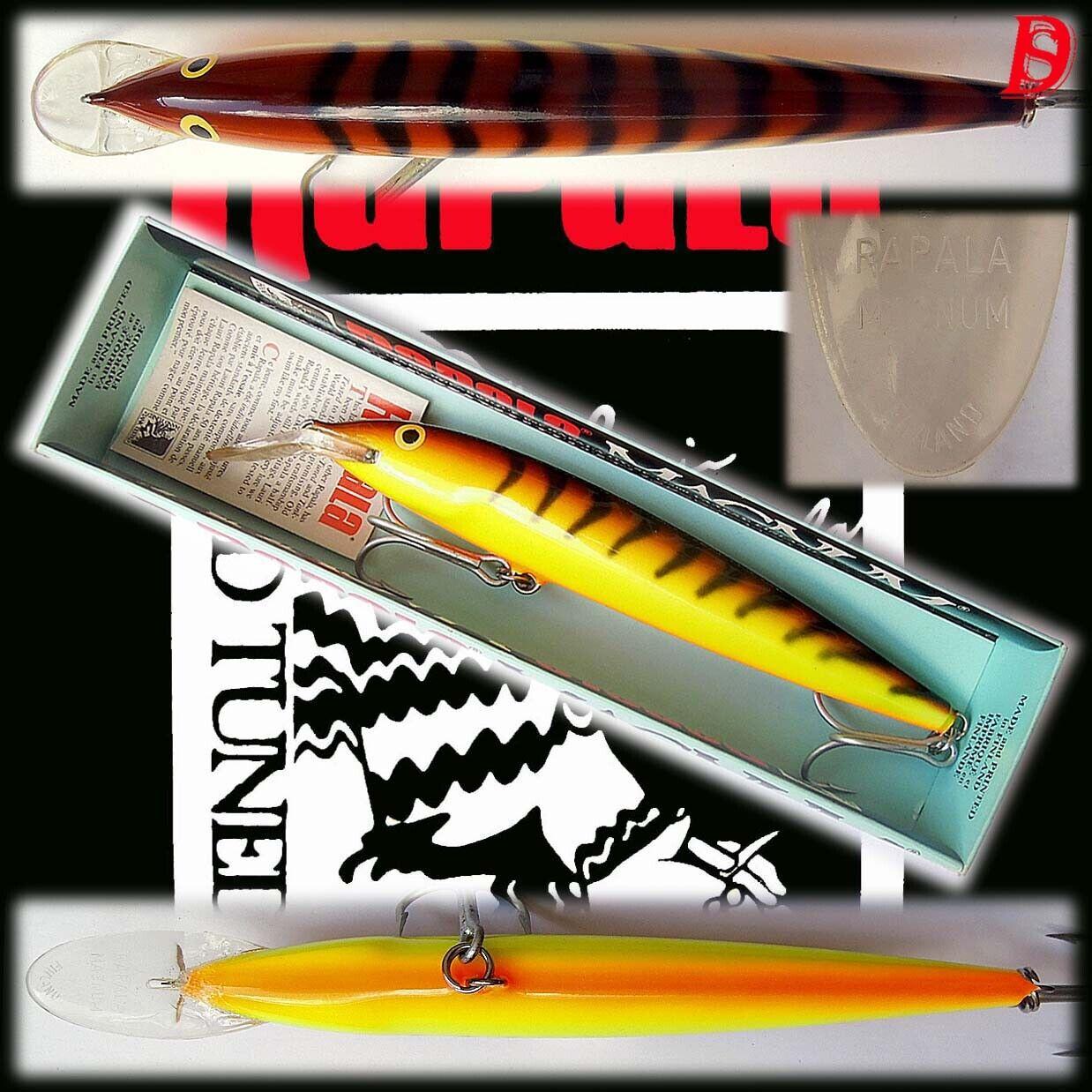 VINTAGE Rapala Magnum Floating 18cm SPECIAL Oy inutilizzato Finlandia estremamente raro