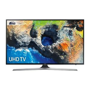 "Samsung UE50MU6120  50"" 4K Ultra HD Smart LED TV in Black Integrated Wifi"