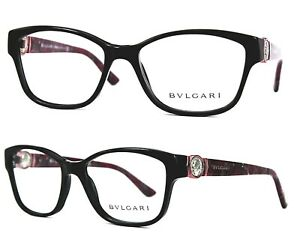 Bvlgari-Damen-Brillenfassung-4050-5172-53mm-rot-vollrand-371-1