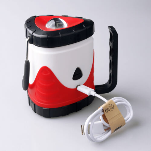 18650 Battery 2000Lumens Outdoor Collapsible LED Camping Lantern USB Light Lamp