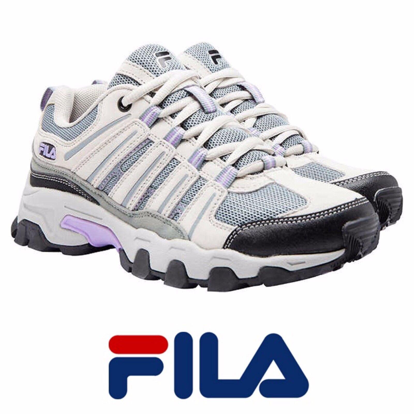 Fila Women's Day Hiker Shoes, Cream/Grey/Lila, Comfortable Brand discount