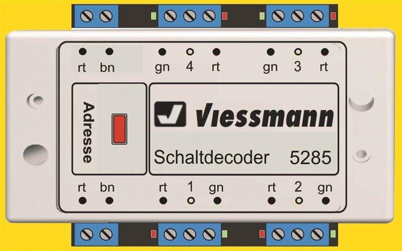 Viessmann 5285 multi-protocollo di commutazione DECODER
