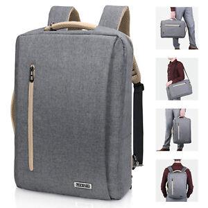 """15.6"""" Men Laptop Backpack Travel Business Messenger Bag School Bookbag"""