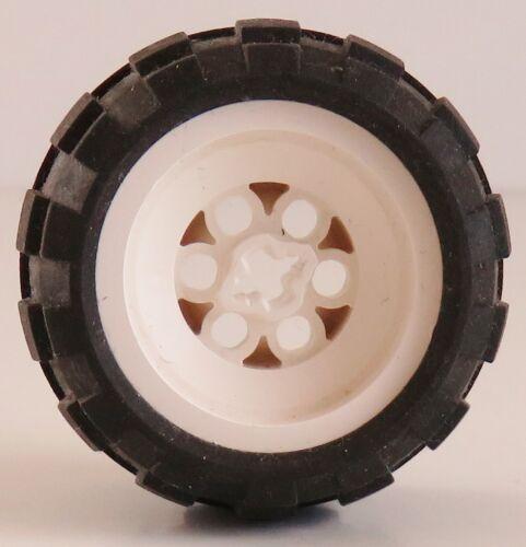# 6580ac01 2 Stück Ballon LEGO Technic weiße Felge Rad 43.2 x 28 mm